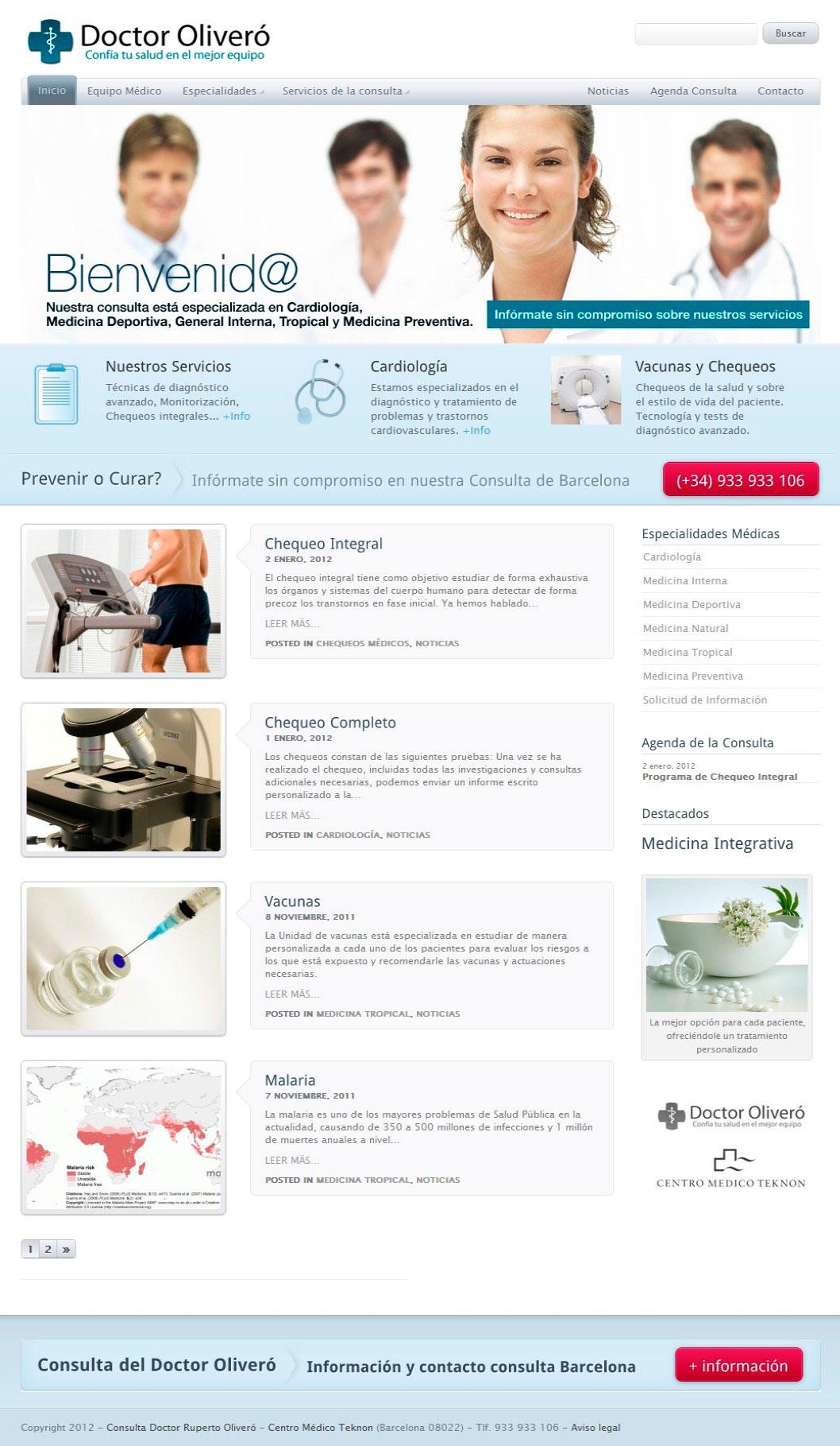 Teknon Barcelona Consulta médica