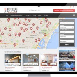Página web inmobiliaria oficinas